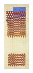 "Charles Rennie Mackintosh Fine Art Open Edition Giclée:""Fabric Design, 1916"""