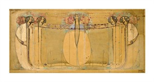 "Margaret Macdonald Mackintosh Fine Art Open Edition Giclée:""The May Queen"""