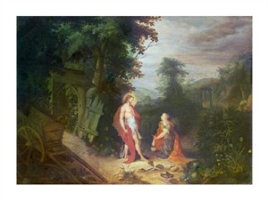 "Govaerts Abraham Fine Art Open Edition Giclée:""Noli Me Tangere"""