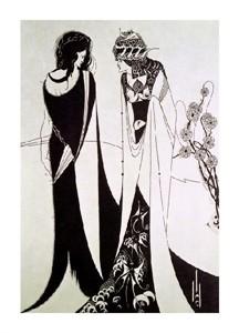 "Aubrey Beardsley Fine Art Open Edition Giclée:""Salome"""