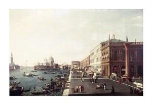 """Bernardo Bellotto Fine Art Open Edition Giclée:""""View of Molo in Venice #1"""""""