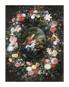 "Jan Bruegel the Elder Fine Art Open Edition Giclée:""Mystic Marriage of Saint Catherine"""