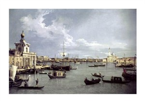 "Canaletto Fine Art Open Edition Giclée:""In Venice"""