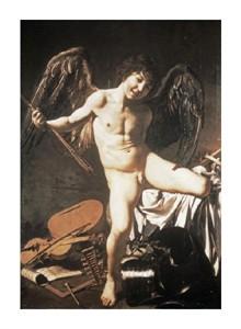 "Caravaggio Fine Art Open Edition Giclée:""Amour Victorious"""