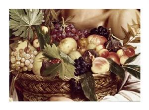 "Caravaggio Fine Art Open Edition Giclée:""Boy with Basket of Fruit - Detail"""