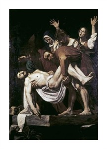 "Caravaggio Fine Art Open Edition Giclée:""Deposition"""