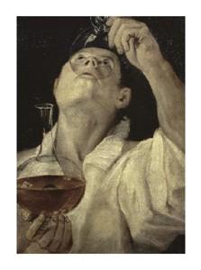 """Annibale Carracci Fine Art Open Edition Giclée:""""Homme Du Vin"""""""