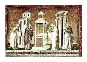 "Pietro Cavallini Fine Art Open Edition Giclée:""Presentation in the Temple"""