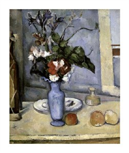 "Paul Cezanne Fine Art Open Edition Giclée:""Blue Vase"""