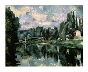"Paul Cezanne Fine Art Open Edition Giclée:""Bridge Over the Marne at Creteil"""