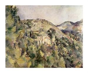 """Paul Cezanne Fine Art Open Edition Giclée:""""La Collines des Pauvres"""""""