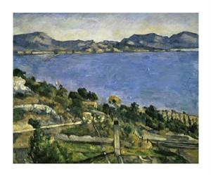 """Paul Cezanne Fine Art Open Edition Giclée:""""L'Estaque"""""""