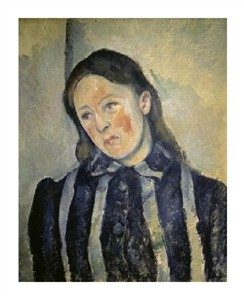 "Paul Cezanne Fine Art Open Edition Giclée:""Madame Cezanne"""