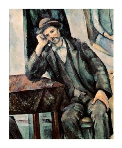 "Paul Cezanne Fine Art Open Edition Giclée:""Man Smoking a Pipe"""