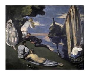"Paul Cezanne Fine Art Open Edition Giclée:""Pastoral"""
