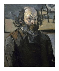 "Paul Cezanne Fine Art Open Edition Giclée:""Portrait of the Artist"""