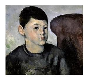"Paul Cezanne Fine Art Open Edition Giclée:""Portrait of the Artist's Son"""