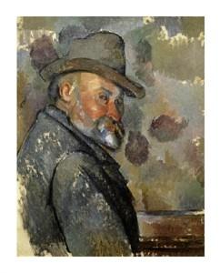 "Paul Cezanne Fine Art Open Edition Giclée:""Self Portrait"""