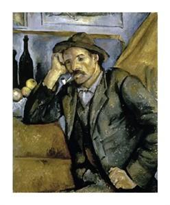 "Paul Cezanne Fine Art Open Edition Giclée:""Smoker"""