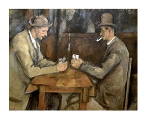 "Paul Cezanne Fine Art Open Edition Giclée:""The Card Players"""