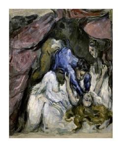 "Paul Cezanne Fine Art Open Edition Giclée:""The Strangled Woman (Le Femme Stranglee)"""