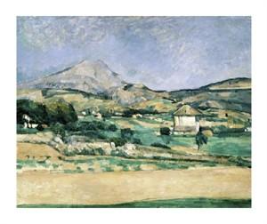 "Paul Cezanne Fine Art Open Edition Giclée:""Valley of Mount St. Victoire"""