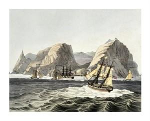 """Luis Choris Fine Art Open Edition Giclée:""""Island of St. Helene"""""""