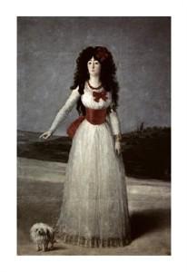"Francisco De Goya Fine Art Open Edition Giclée:""13th Duchess of Alba"""