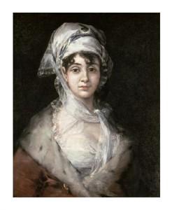 "Francisco De Goya Fine Art Open Edition Giclée:""Antonia Zarate"""