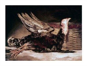 "Francisco De Goya Fine Art Open Edition Giclée:""Dead Turkey"""