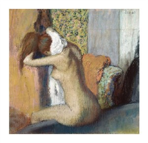 "Edgar Degas Fine Art Open Edition Giclée:""After the Bath"""
