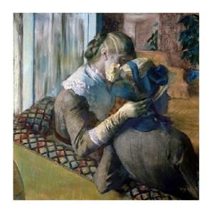 "Edgar Degas Fine Art Open Edition Giclée:""At the Milliner's"""