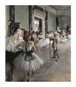 """Edgar Degas Fine Art Open Edition Giclée:""""Dance Class"""""""