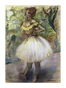 """Edgar Degas Fine Art Open Edition Giclée:""""Dancer in Yellow"""""""