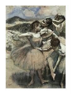 """Edgar Degas Fine Art Open Edition Giclée:""""Dancers"""""""