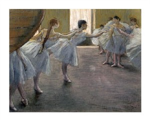 "Edgar Degas Fine Art Open Edition Giclée:""Dancers at the Rehearsal"""