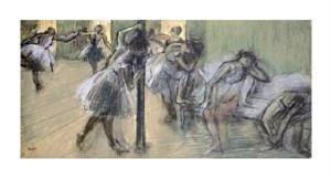 "Edgar Degas Fine Art Open Edition Giclée:""Dancers in Rehearsal (II)"""