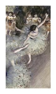 "Edgar Degas Fine Art Open Edition Giclée:""Danseuse Basculant - Danseuse Verte"""
