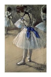 "Edgar Degas Fine Art Open Edition Giclée:""Danseuse, Dancer, Pastel/Char/Chalk"""