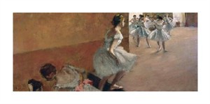 "Edgar Degas Fine Art Open Edition Giclée:""Danseuses Montant Un Escalier"""