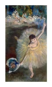 "Edgar Degas Fine Art Open Edition Giclée:""End of the Arabesque, c. 1877"""