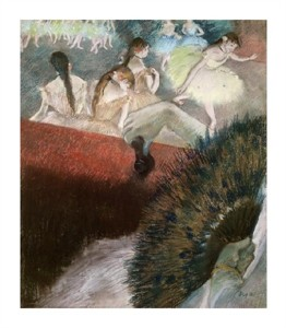 "Edgar Degas Fine Art Open Edition Giclée:""In the Theatre"""