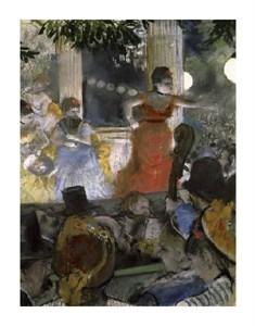 "Edgar Degas Fine Art Open Edition Giclée:""Le Cafe Concert Des Ambassadeurs"""