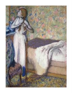 "Edgar Degas Fine Art Open Edition Giclée:""Morning Toilette"""