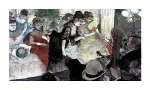 "Edgar Degas Fine Art Open Edition Giclée:""Orchestra Pit"""