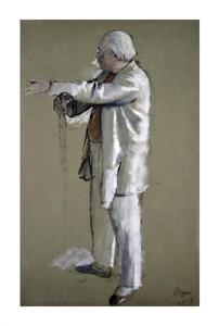 "Edgar Degas Fine Art Open Edition Giclée:""The Ballet Master"""