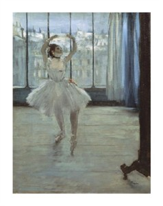 "Edgar Degas Fine Art Open Edition Giclée:""The Dancer at the Studio"""