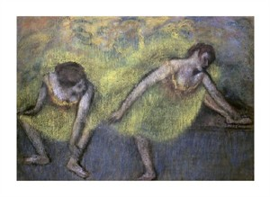 "Edgar Degas Fine Art Open Edition Giclée:""Two Dancers at Rest"""