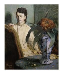 """Edgar Degas Fine Art Open Edition Giclée:""""Woman with Porcelain Vase"""""""