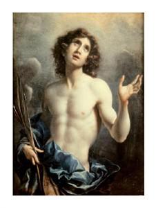 "Carlo Dolci Fine Art Open Edition Giclée:""Saint Sebastian"""